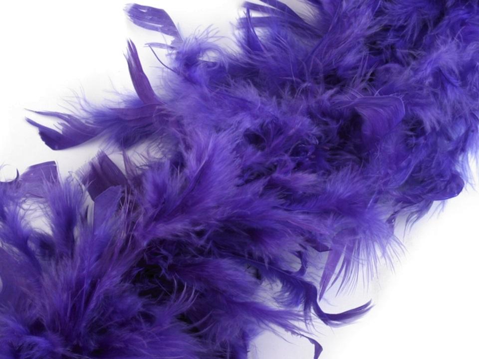 Boa fialové - krůtí 60g