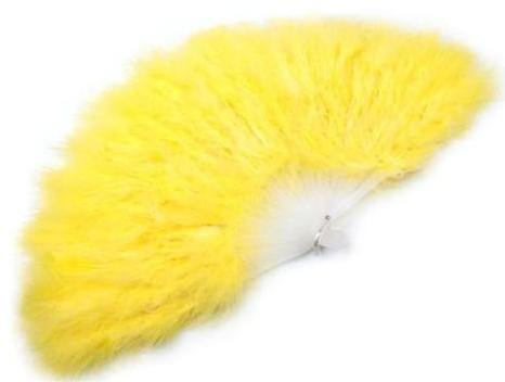 Vějíř velký žlutý